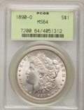 Morgan Dollars: , 1890-O $1 MS64 PCGS. PCGS Population (3050/434). NGC Census: (2427/175). Mintage: 10,701,000. Numismedia Wsl. Price for pro...