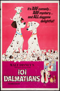 "Movie Posters:Animated, 101 Dalmatians (Buena Vista, R-1972). Poster (40"" X 60""). Animated.. ..."