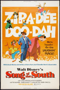 """Movie Posters:Animated, Song of the South (Buena Vista, R-1973). Poster (40"""" X 60"""").Animated.. ..."""