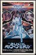 """Movie Posters:Science Fiction, Buck Rogers in the 25th Century Lot (Universal, 1979). Flat Folded One Sheet (27"""" X 41"""") Style B, and Poster (40"""" X 60"""") DS... (Total: 2 Items)"""