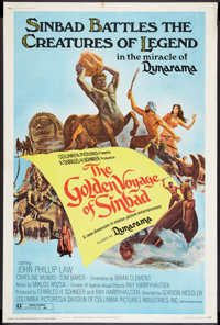 """The Golden Voyage of Sinbad (Columbia, 1973). Poster (40"""" X 60"""") Style A. Fantasy"""