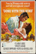 """Movie Posters:Academy Award Winners, Gone with the Wind (MGM, R-1967). Poster (40"""" X 60""""). Academy AwardWinners.. ..."""