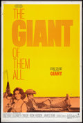 """Movie Posters:Drama, Giant (Warner Brothers, R-1970). Poster (40"""" X 60""""). Drama.. ..."""