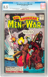 All-American Men of War #101 (DC, 1964) CGC VF+ 8.5 Cream to off-white pages