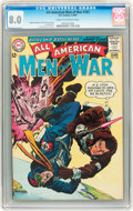 Silver Age (1956-1969):War, All-American Men of War #103 (DC, 1964) CGC VF 8.0 Cream to off-white pages....