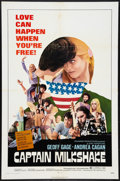 "Movie Posters:Exploitation, Captain Milkshake (TWI National, 1972). One Sheet (27"" X 41"").Exploitation.. ..."