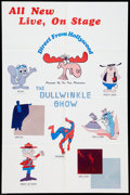 "Movie Posters:Animated, The Bullwinkle Show (NBC, 1961). Poster (25"" X 38""). Animated.. ..."