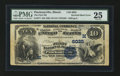 Error Notes:Major Errors, Fr. 577 $10 1882 Value Back The First NB, Pinckneyville, IL Ch. #(M)6025 Inverted Reverse.. ...