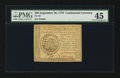 Colonial Notes:Continental Congress Issues, Continental Currency September 26, 1778 $50 PMG Choice ExtremelyFine 45.. ...
