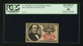 Fractional Currency:Fifth Issue, Fr. 1309 25¢ Fifth Issue Manuscript Note PCGS Apparent Extremely Fine 40.. ...