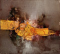 Post-War & Contemporary:Abstract Expressionism, DAVE SHANTI (Indian, b. 1931). Untitled No. 9, 1964. Oil oncanvas. 18 x 20 inches (45.7 x 50.8 cm). Signed upper right ...
