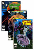 Modern Age (1980-Present):Superhero, Saga of the Swamp Thing Group (DC, 1982-87) Condition: AverageNM.... (Total: 58 Comic Books)