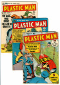 Golden Age (1938-1955):Superhero, Plastic Man #28-30 Group (Quality, 1951).... (Total: 3 Comic Books)