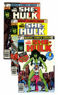 Modern Age (1980-Present):Superhero, The Savage She-Hulk #1-25 Group (Marvel, 1980-82) Condition: Average NM.... (Total: 25 Comic Books)