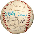 Autographs:Baseballs, 1982 Negro League Reunion Signed Baseball with Willard Brown....