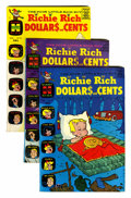 Silver Age (1956-1969):Humor, Richie Rich Dollars and Cents - File Copy Box Lot Group (Harvey, 1965-82) Condition: Average VF/NM.... (Total: 2 Box Lots)