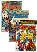 Modern Age (1980-Present):Superhero, The Avengers and Related Titles Short Box Group (Marvel, 1980s)Condition: Average NM....