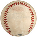 Autographs:Baseballs, Mid-1960's Jackie Robinson Single Signed Baseball....