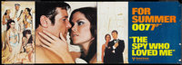 """The Spy Who Loved Me (United Artists, 1977). Banners (2) (21"""" X 59""""). James Bond. ... (Total: 2 Items)"""