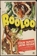 """Movie Posters:Adventure, Booloo (Paramount, 1938). One Sheet (27"""" X 41""""). Adventure.. ..."""