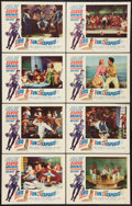"Movie Posters:Elvis Presley, Fun in Acapulco Lot (Paramount, 1963). Lobby Card Set of 8 (11"" X14"") and Window Card (14"" X 22""). Elvis Presley.. ... (Total: 9Items)"