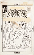 Original Comic Art:Covers, Ray Dirgo Yogi Bear #4 Cover Original Art (Charlton,1974)....