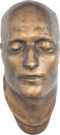 Movie/TV Memorabilia:Memorabilia, Napoleon Bonaparte Life Mask....