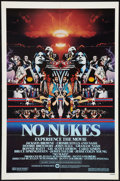 "Movie Posters:Rock and Roll, No Nukes (Warner Brothers, 1980). One Sheet (27"" X 41""). Rock andRoll.. ..."
