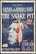 "Movie Posters:Drama, The Snake Pit (20th Century Fox, R-1956). One Sheet (27"" X 41""). Drama.. ..."