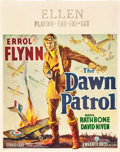 "Movie Posters:War, The Dawn Patrol (Warner Brothers, 1938). Jumbo Window Card (22"" X 28"").. ..."
