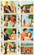 "Movie Posters:James Bond, Dr. No (United Artists, 1962). CGC Graded Lobby Card Set of 8 (11""X 14"").. ... (Total: 8 Items)"