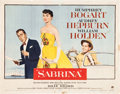 "Movie Posters:Romance, Sabrina (Paramount, 1954). Half Sheet (22"" X 28"") Style A.. ..."