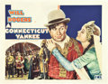 """Movie Posters:Comedy, A Connecticut Yankee (Fox, 1931). Half Sheet (22"""" X 28"""").. ..."""
