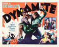 "Movie Posters:Drama, Dynamite (MGM, 1929). Half Sheet (22"" X 28"").. ..."