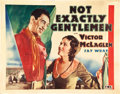 "Movie Posters:Western, Not Exactly Gentlemen (Fox, 1931). Half Sheets (2) (22"" X 28"") Styles A & B.. ... (Total: 2 Items)"