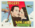 "Movie Posters:Action, Young Eagles (Paramount, 1930). Half Sheets (2) (22"" X 28"") StylesA and B.. ... (Total: 2 Items)"