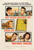 "Movie Posters:War, From Here to Eternity (Columbia, 1953). One Sheet (27"" X 41"").. ..."