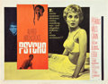 """Movie Posters:Hitchcock, Psycho (Paramount, 1960). Half Sheet (22"""" X 28"""") Style A.. ..."""