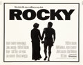 "Movie Posters:Academy Award Winners, Rocky (United Artists, 1977). Half Sheet (22"" X 28"").. ..."