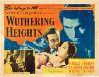 """Wuthering Heights (United Artists, 1939). Half Sheet (22"""" X 28"""")"""