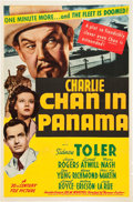 """Movie Posters:Mystery, Charlie Chan in Panama (20th Century Fox, 1940). One Sheet (27"""" X 41"""").. ..."""