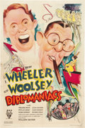 "Movie Posters:Comedy, Diplomaniacs (RKO, 1933). One Sheet (27"" X 41"").. ..."