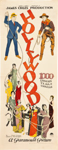 "Movie Posters:Comedy, Hollywood (Paramount, 1923). Insert (14"" X 36"").. ..."