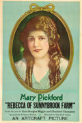 "Movie Posters:Drama, Rebecca of Sunnybrook Farm (Artcraft, 1917). One Sheet (27.5"" X41.5"").. ..."