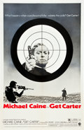 """Movie Posters:Crime, Get Carter (MGM, 1971). One Sheet (27"""" X 41"""") Style B.. ..."""