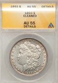 1893 $1 --Cleaned--ANACS. AU55 Details. NGC Census: (185/2087). PCGS Population (189/3532). Mintage: 389,792. Numismedia...