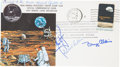 Explorers:Space Exploration, Apollo 11 Flown Crew-Signed Commemorative Cover Directly from thePersonal Collection of Mission Command Module Pilot Michael ...