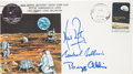 Autographs:Celebrities, Apollo 11 Crew-Signed Type III Insurance Cover Originally from thePersonal Collection of Mission Lunar Module Pilot Buzz Aldr...