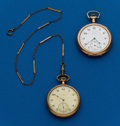 Timepieces:Pocket (post 1900), Two - Elgin Gold Filled 12 Size. ... (Total: 2 Items)