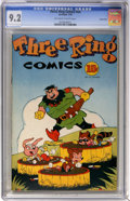 Golden Age (1938-1955):Funny Animal, Three Ring Comics #nn Carson City pedigree (Spotlight, 1945) CGC NM- 9.2 Off-white to white pages....